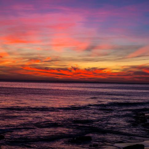 Purple Skyline   Morocco, Africa