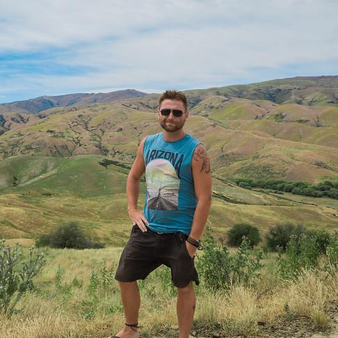 Hills of New Zealand - Roadtrip
