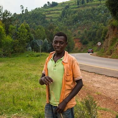 Roadside Kid | Rwanda Africa