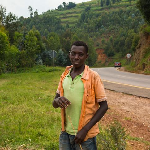 Roadside Kid   Rwanda Africa