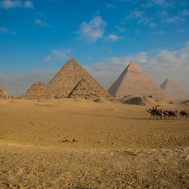 Great Pyramids of Giza | Cario, Egypt