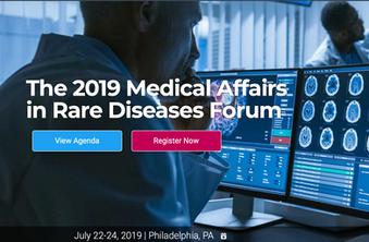 ACMA - 2019 Rare Disease Forum - Philadelphia