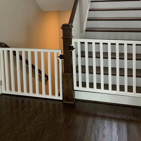White Baby Gates