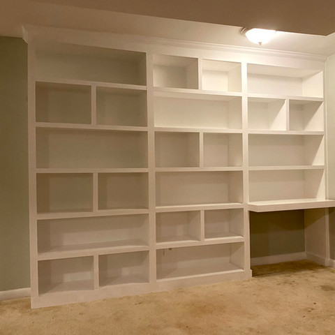 Built-in With Desk