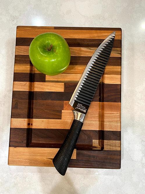 "9.75"" Maple and Walnut Cutting Board"