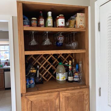 Custom Kitchen Cabinet Storage