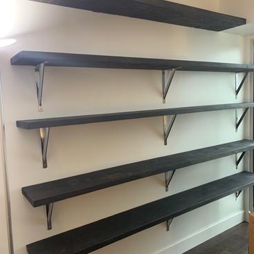 Office Shelves Wall