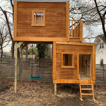 Two Story Playhouse