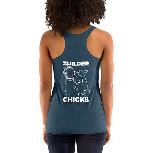 BuilderChicks Women's Racerback Tank