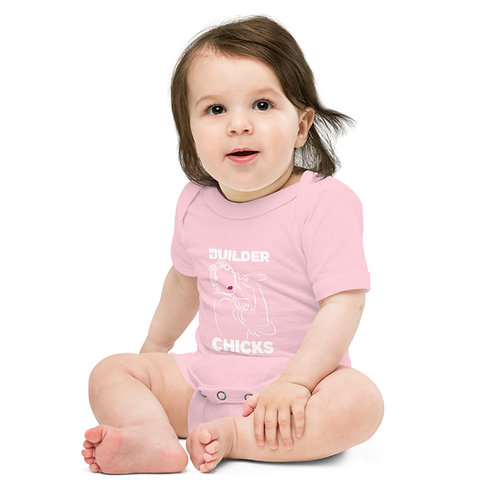 BuilderChicks Baby short sleeve one piece