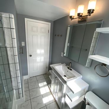 Finished Bathroom Remodel