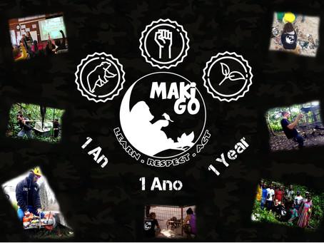 1 an pour MakiGo ! 🇫🇷 🇬🇧 🇪🇸