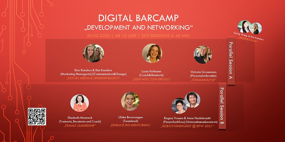 "Digital Barcamp ""Development and Networking"""