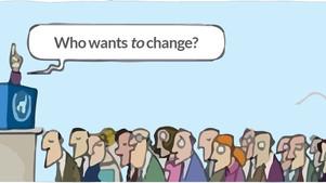 Het verschil tussen willen en doen