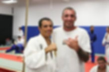 Ira with Royler Gracie at University of Jiu Jitsu