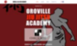 Jennifer's latest website design, orovillejiujitsu.com