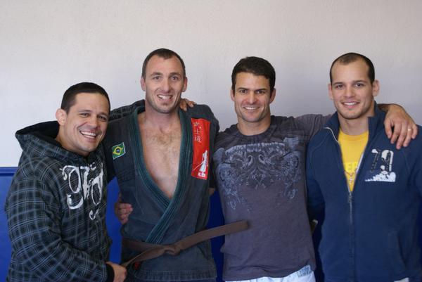 Ira, Paulo, Saulo & Xande, day of Brown