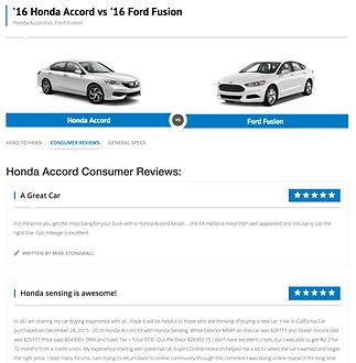 automotive competitive content