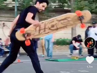 My second most viewed longboard clip. 21.5m views 😱