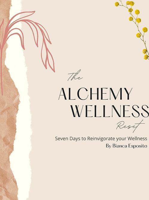 The Alchemy Wellness Reset Workbook (Jan)
