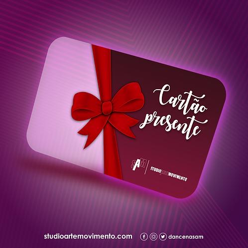 Cartão Presente -1 mês de aulas ilimitadas