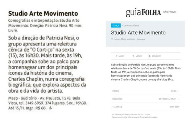 Folha de São Paulo - 2019