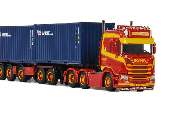 WSI MEIJERING TRANSPORT SCANIA R & COMBI TRAILER WITH CONTAINERS