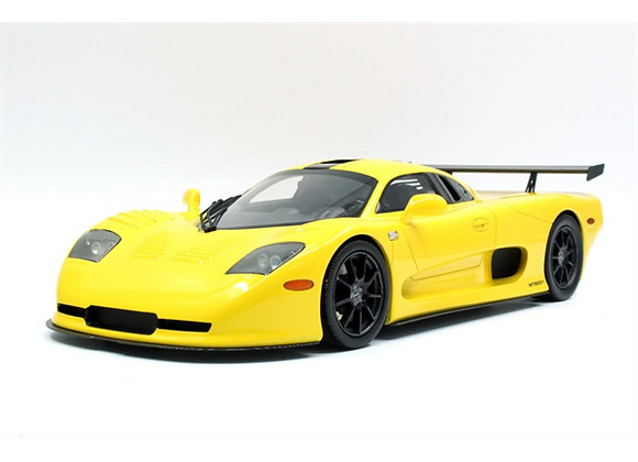 TOP MARQUES MOSLER YELLOW 1:18 SCALE RRP £239.99