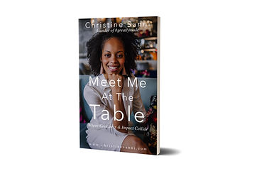 Meet Me At The Table - by Christine Sanni