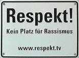 Schild am Mannheimer Rathaus