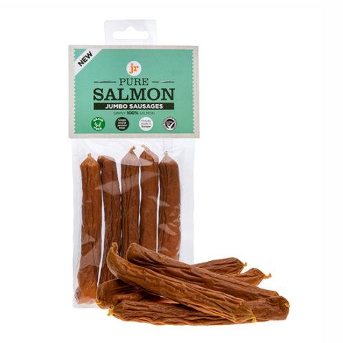 Pure Salmon Jumbo Sausages