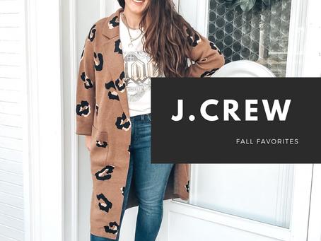 J.Crew Fall Favorites