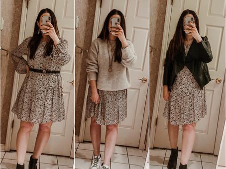 5 Ways to Wear a Printed Dress