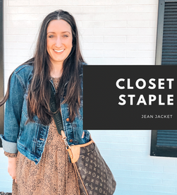 Closet Staple: Jean jacket
