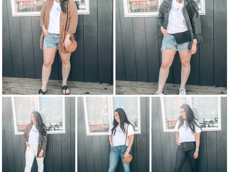 5 Ways to Style a White Tee for Spring