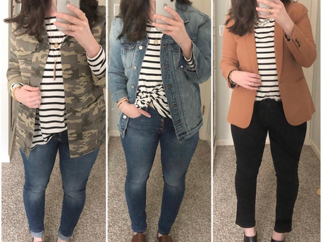 How to Style a Striped Shirt - With Items You Likely Already Have