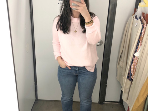 Old Navy Try On Session - Fall