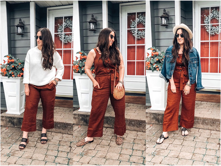 5 Ways to Style a Jumpsuit