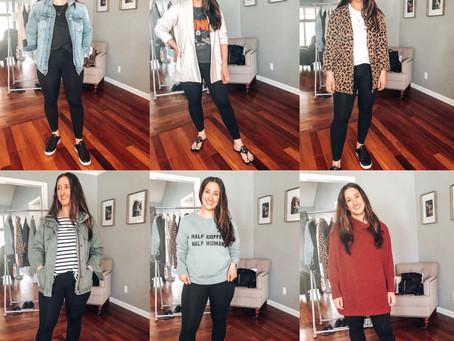 6 Ways to Style Leggings