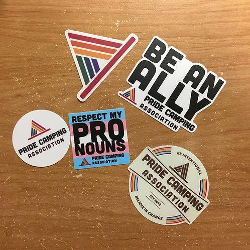 Five Sticker Pack