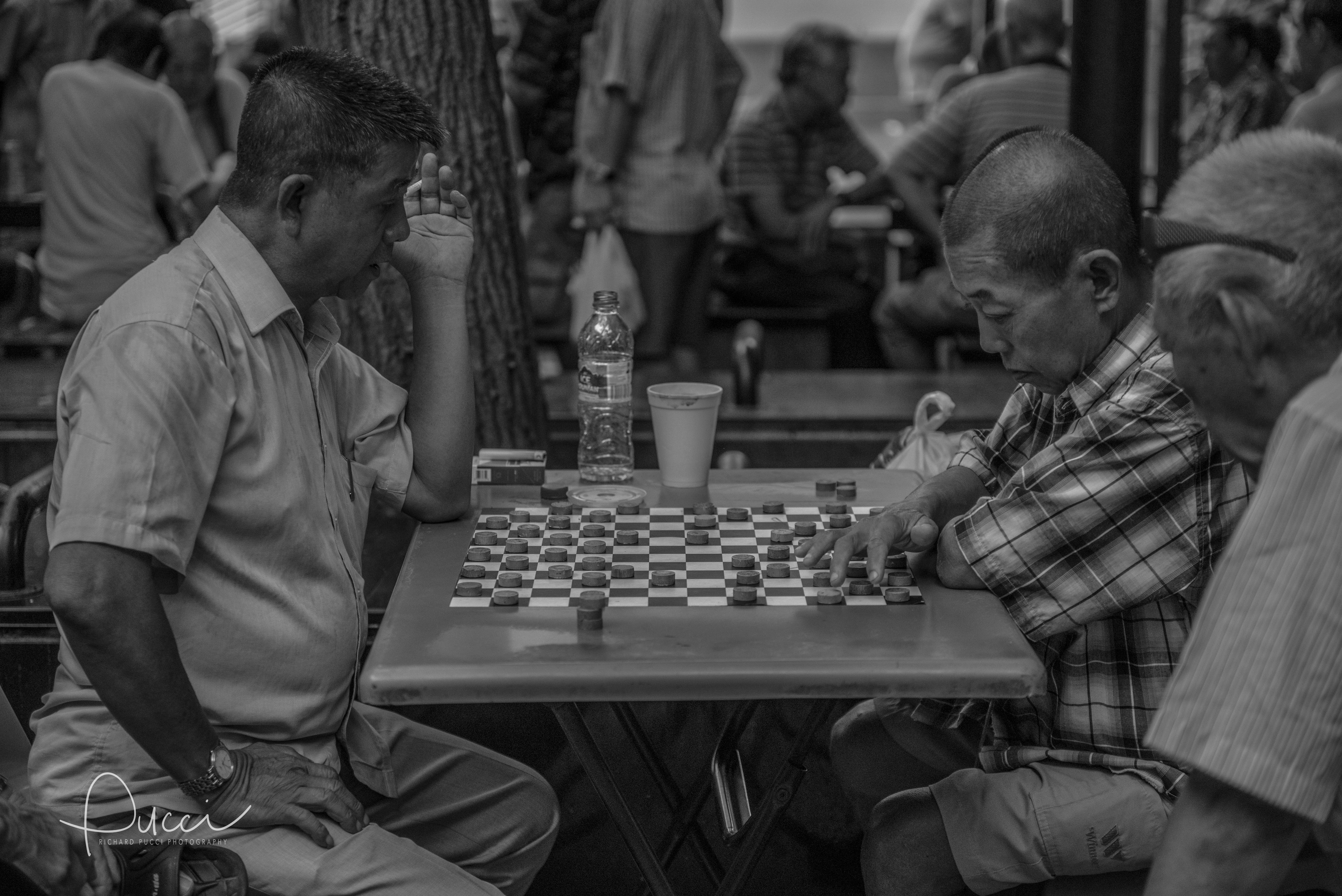 Checkers in China Town - Singapore