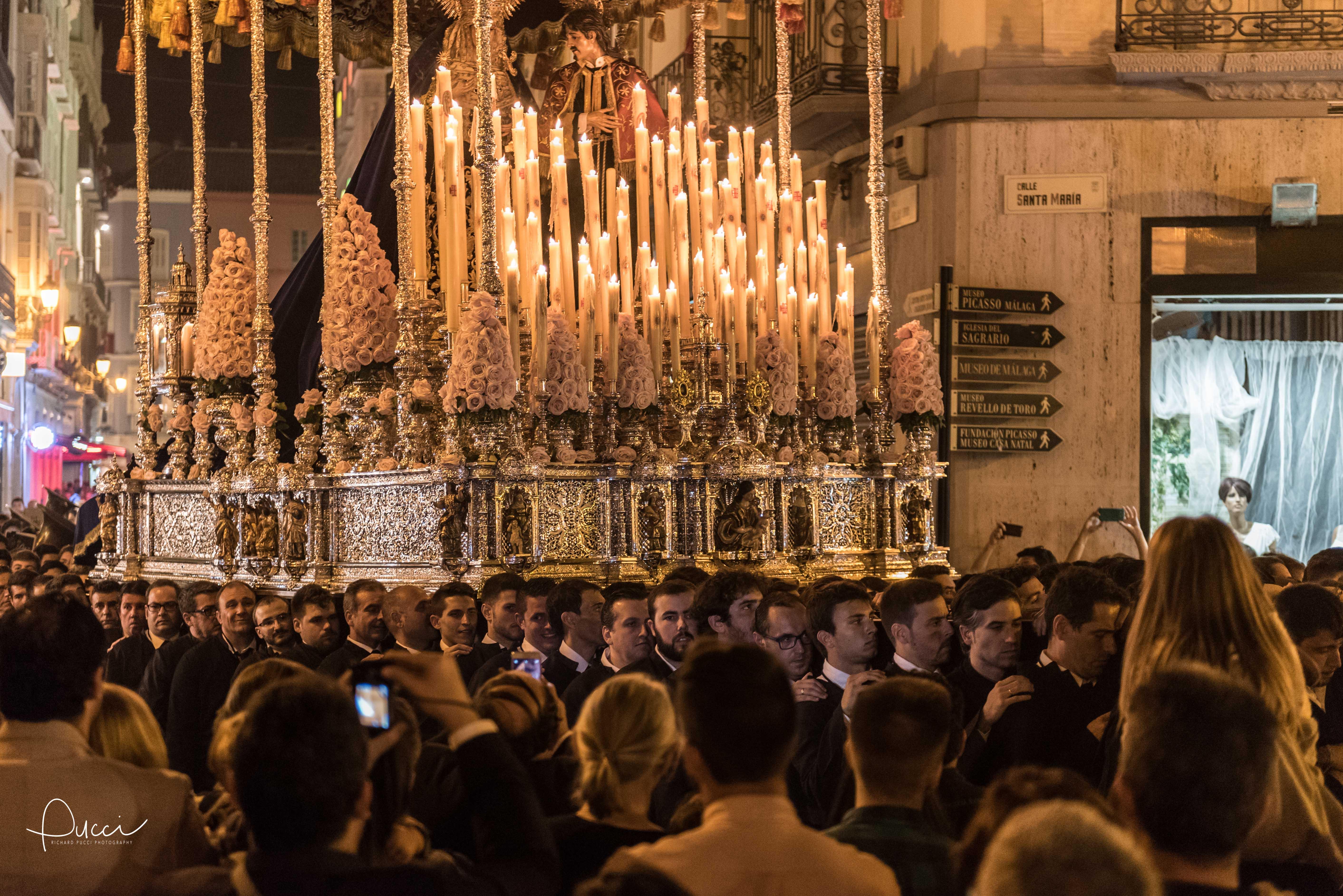 Easter festival, Malaga