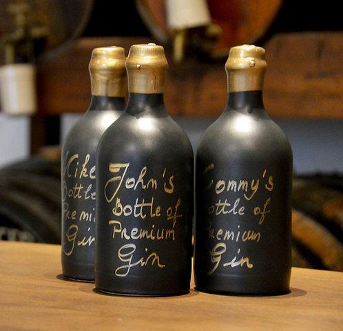 Gepersonaliseerde gin-kruik