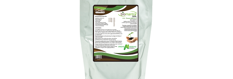 1 lb BioMantra Soil
