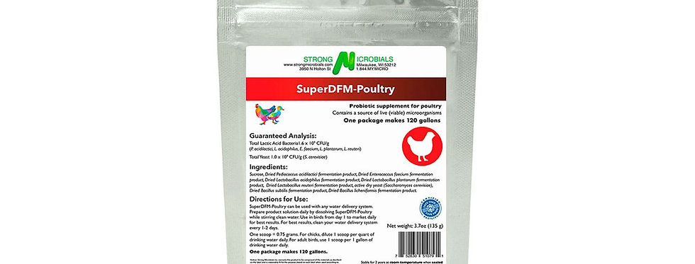4.7oz SuperDFM-Poultry (backyard)
