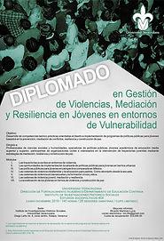 Cartel Diplomado Gestión de Violencias.j