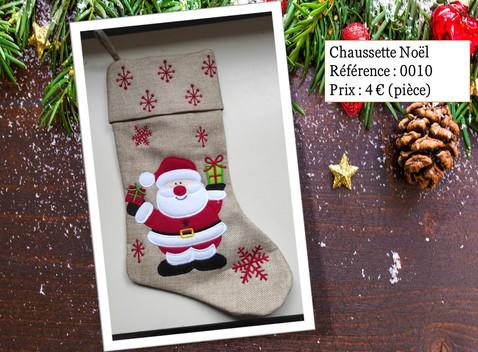 Chaussette Noël