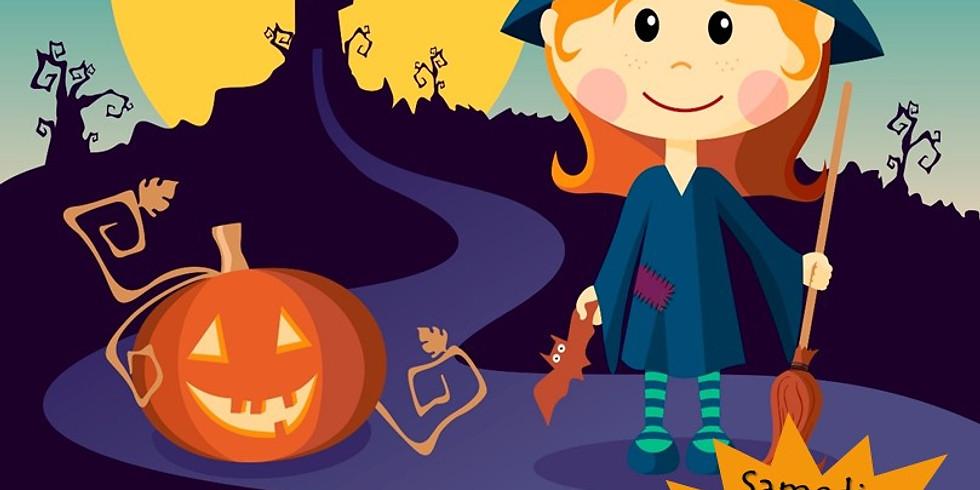 Grande fête d'Halloween