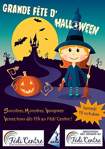 affiche halloween 2019 pour programme di