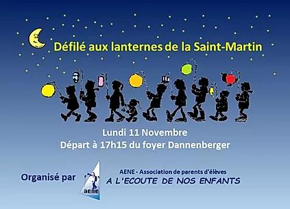 DEFILE AUX LANTERNES DE LA SAINT-MARTIN